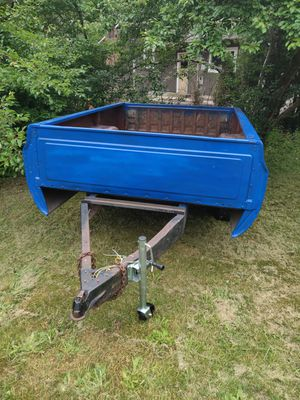 Truck bed utility trailer 8 ft for Sale in Marysville, WA