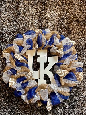 Kentucky Wildcats Wreath for Sale in Lexington, KY