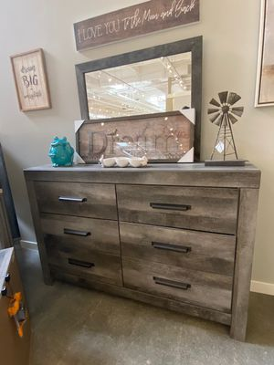 NEW IN THE BOX.*STYLISH* GREY DRESSER . SKU#TCB200-DRESSER for Sale in Garden Grove, CA