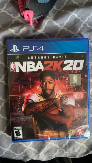 NBA 2k 20 for PS4 for Sale in Randolph, MA