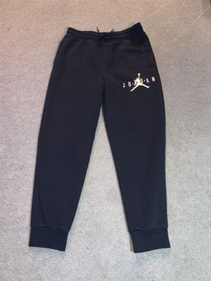 Air Jordan men's M black joggers NWT for Sale in Olympia, WA