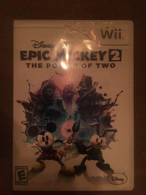 Nintendo Wii Mickey 2 for Sale in Visalia, CA