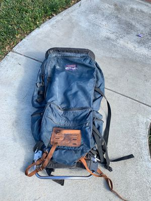 JANSPORT BACKPACKING BACKPACK made in the USA used in good condition for Sale in Riverside, CA