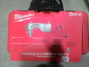 Millwalky right angle power drill set for Sale in Sandy Spring, MD