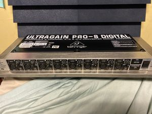 Behringer Ultragain Pro-8 Digital for Sale in Lemon Grove, CA