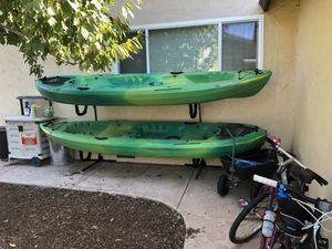 Two person kayaks $350 OBO each for Sale in Pleasanton, CA