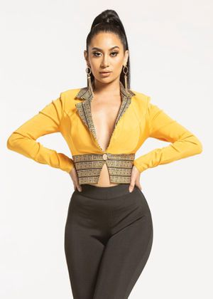 Yellow bandage dress for Sale in North Las Vegas, NV