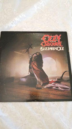 OZZY OSBOURNE BLIZZARD OF OZZ VINYL LP RECORD ALBUM for Sale in Cypress Gardens, FL