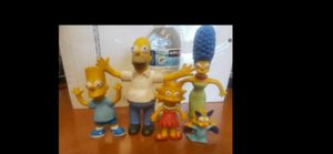 Vintage Bart Simpson and family Bendable Action Figure The Simpsons 90's for Sale in Riverside, CA
