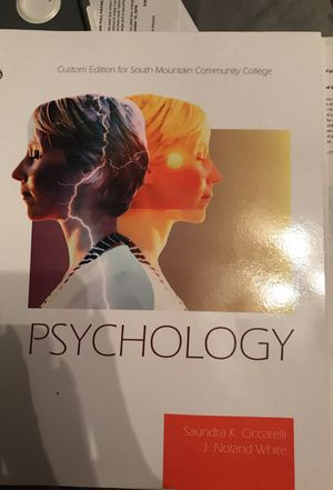 Psychology 101 taken from fourth edition brand new book for Sale in Phoenix, AZ