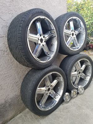 23 rim's and wheeels for Sale in East Compton, CA