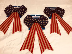 3 NEW Large Americana Bows for Sale in Camden, NY
