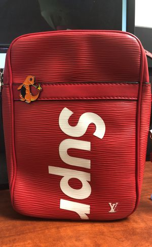 NEED TO SALE ASAP Louis Vuitton x Supreme Danube Epi PM red for Sale in San Diego, CA