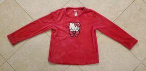 Girl's Hello Kitty Long Sleeve Pajama Sleepwear Shirt Size S (4-6) Pink Fuchsia for Sale in Spring Hill, FL