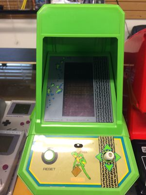 Frogger Tabletop Mini Arcade Game Machine for Sale in Carmichael, CA