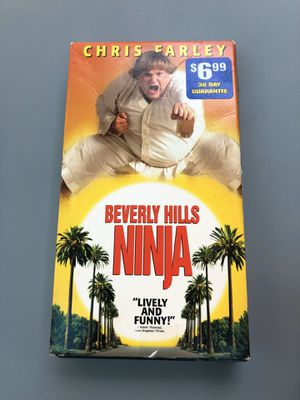 Beverly Hills Ninja on VHS for Sale in Houston, TX