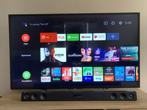Sony Bravia 55 inch 4K Android TV with HDR- XBR-55X700D for Sale in Broomfield, CO