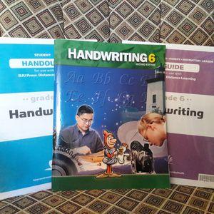 Bob Jones University Homeschool Handwriting , Test and Test Key Curriculum for Sale in Euless, TX