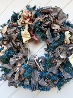 Large Nativity wreath for Sale in Winter Haven, FL