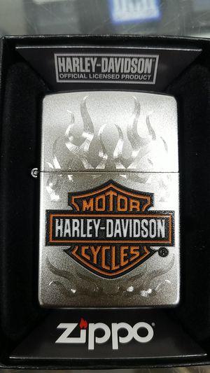 Zippo Harley Davidson satin chrome 29904 for Sale in Los Angeles, CA