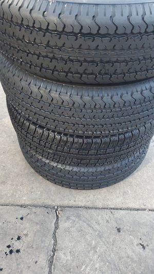 Four very strong tires for sale 225/75/15 for Sale in Washington, DC