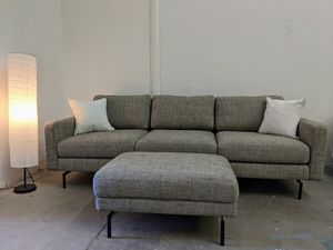 Modern Sofa Couch and Ottoman for Sale in Oceanside, CA