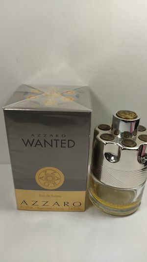 100% AUTHENTIC AZZARO WANTED FRAGRANCE FOR MEN 3.4OZ (100ML) for Sale in HALNDLE BCH, FL