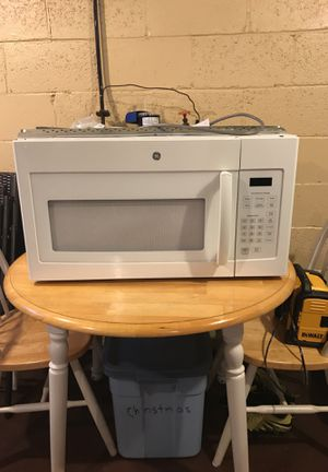 Gently Used GE Over-the-Stove Microwave for Sale in Pittsburgh, PA