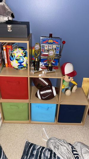 Kids organizer with boxes for Sale in Ives Estates, FL