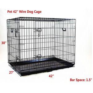 """42"""" Premium 2 Door Wire Crate for Sale in Riverside, CA"""