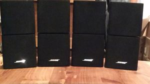 Bose Lifestyle Acoustimass Double Cube Satellite Speakers for Sale in Olympia, WA