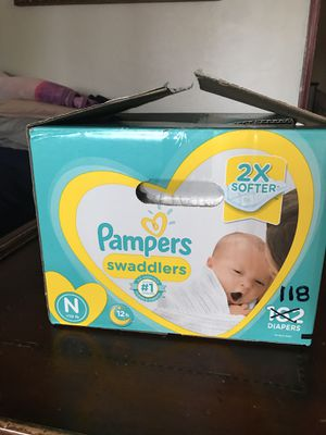 (TRADE) Pampers 118 count for diapers size 3 for Sale in Gardena, CA