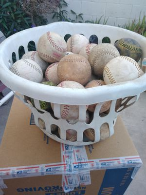 Softball cleats, bats, gloves and balls for Sale in Glendale, AZ