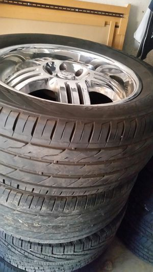 """Wheels and tires 20"""" 6 lug ford for Sale in Riverside, CA"""
