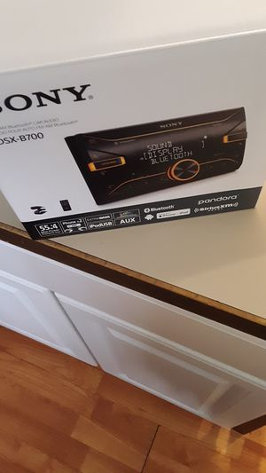 Sony Dsx-B700 FM /AM Bluetooth car Audio for Sale in Charlottesville, VA