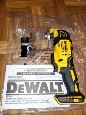 Dewalt Multi-tool XR 20V for Sale in Norwalk, CA