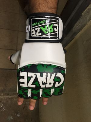 MMA UFC Grappling Gloves Fight Boxing Punch Bag Training Half Finger for Sale in Brooklyn, NY