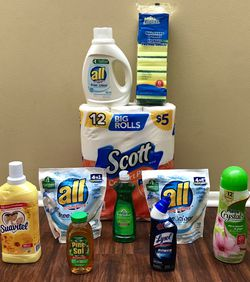 Large All Detergent Household Cleaning Bundle for Sale in Longwood,  FL