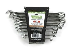 Pittsburgh 9 Piece SAE Combination Wrench Set by Harbor Freight Tools #69043 for Sale in New Port Richey, FL