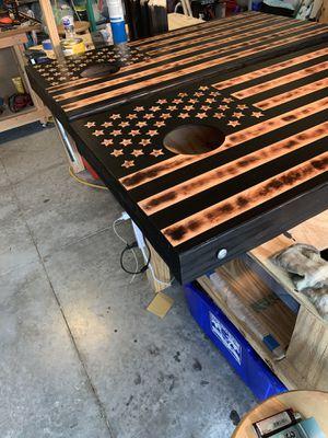 Veteran Made Cornhole Boards for Sale in Ormond Beach, FL