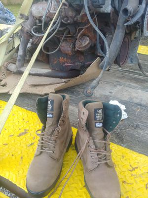 Mens work boots for Sale in Canton, OH