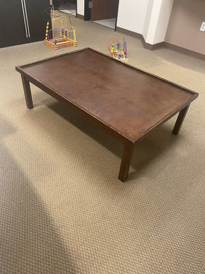 Low Wooden Play Table! (message for measurements) for Sale in Mission Viejo, CA