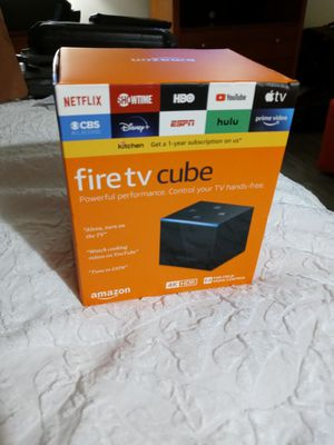Amazon Fire TV cube (2nd Generation) for Sale in Rancho Cucamonga, CA