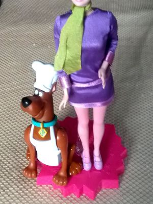 Daphne barbie doll with scoopy doo for Sale in McDonogh, MD