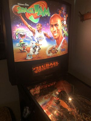 1996 Sega Space Jam Pinball Machine - serviced and works! for Sale in Plainfield, IN