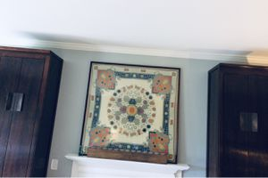 Cool art with PB frame! Large 4'x4' for Sale in Atlanta, GA