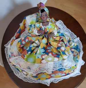 Hand Crafted Jamaican Doll. Double sided Doll for Sale in Bolingbrook, IL