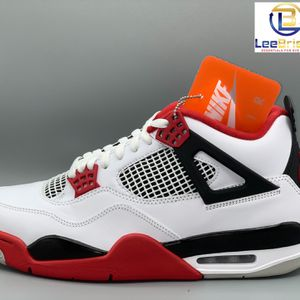 NIKE AIR JORDAN 4 RETRO WHITE/FIRE RED-BLACK-TECH GREY MEN'S SIZES 7Y, 10, 10.5, & 11 DC7770160 Confirmed. Will Be Available On Release Day. for Sale in Atlanta, GA