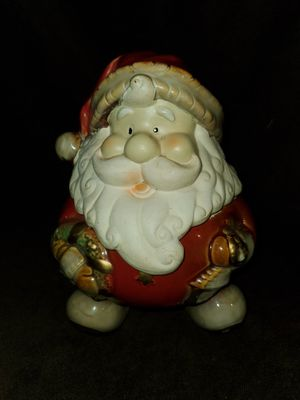 Santa Claus Cookie/Candy Jar for Sale in Sarasota, FL