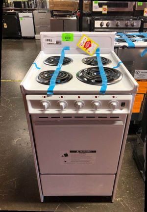 Brand New Summit Electric Range Stove Model:RE203W OC for Sale in Ontario, CA